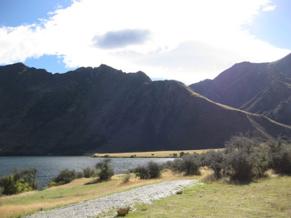 Moke Lake DOC campsite, Otago