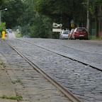 Cobblestones on Siemianowicka Street.
