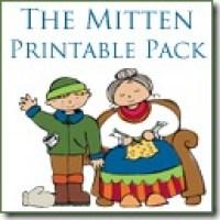 Printables for The Mitten by Jan Brett