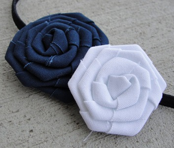 Prettylicious Navy & White Headband
