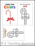 Tot Book- Candy Cane
