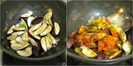 How to make Chettinad kathirikkai Chops
