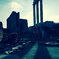 Roman Forum with the Fuji X-E1