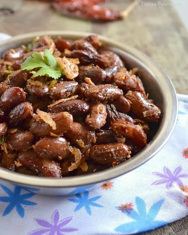 Kidney Beans Sundal Recipe
