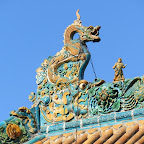the roof of the ever-peaceful monastery; the fellow who keeps the place assures me that this is Yuan-dynasty although repainted 04.JPG