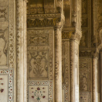 Hall of Private Audience - beautiful marble structure at the Red Fort - Canon T2i