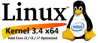 Kernel 3.4 x64 Intel Core i3 / i5 / i7 Optimized  su Ubuntu e derivate