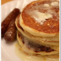 Eat In Recipe: Meyer Lemon & Greek Yogurt Pancakes with Meyer Lemon Syrup