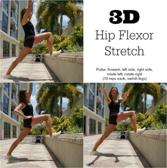 3D Hip Flexor Stretch