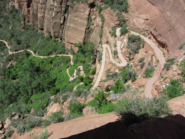 The Path - First Section up to Angels Landing