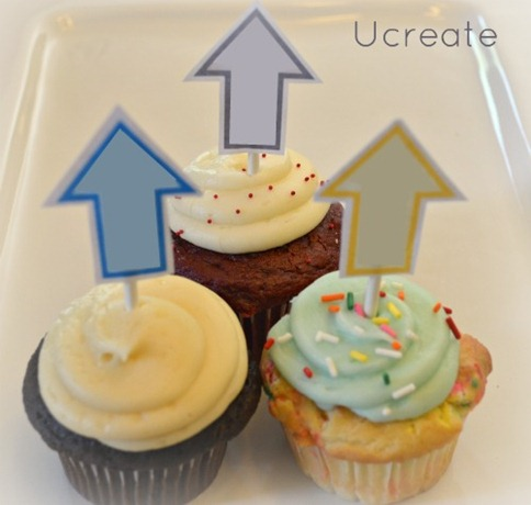 look up cupcake toppers