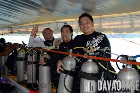 Ok! Davao Reef Divers Club was successful in cleaning and improving the condition of the underwater habitat in Talicud.