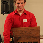 MWCA Mr. Minnesota of Wrestling selection Michael Kroells of Scott West.