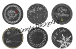 Simply Designing - Chalkboard Tags