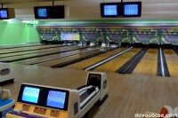 Tenpin bowling lanes equipped with automatic scoring and clearing system at NCCC B3