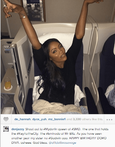 Savage Instagram Captions : Check Out Don Jazzys Birthday Message To Tiwa Savage As She Turns 35