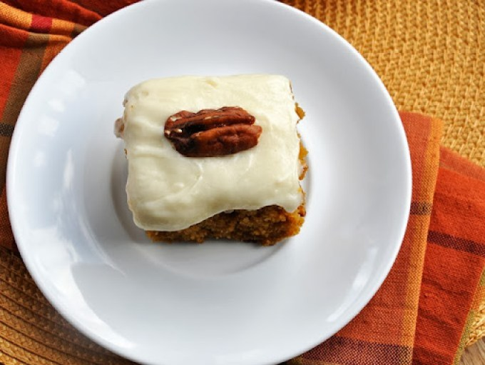 pumpkin cake bars reduced-fat 079