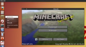 Minecraft in Ubuntu