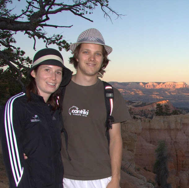 Renee and I during Sunset