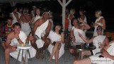 Watching Football in Togas - Mykonos-1.JPG