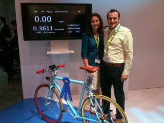 First Prize winner of N900 PUSH Challenge. An N900 bike computer :)