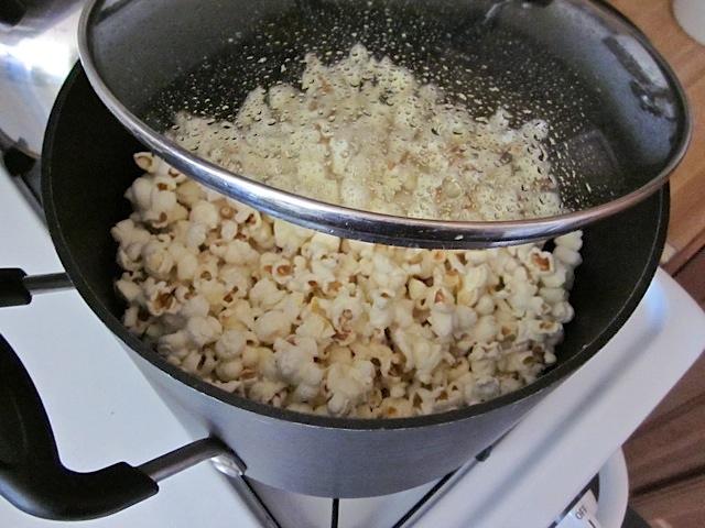 popped kernels