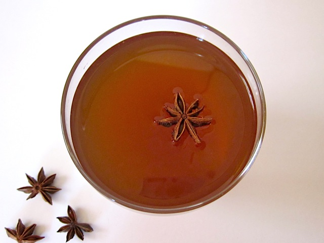 spiced spiked holiday tea