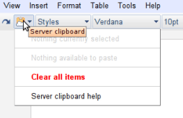 Server Clipboard