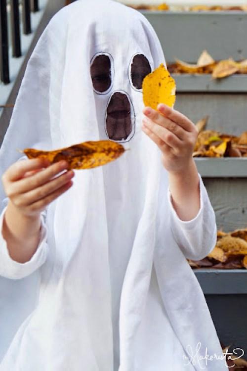 Karnevalová maska duch