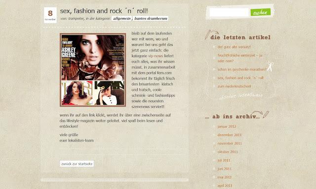各个细心设计的网页元素衬托网站主题