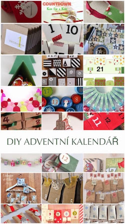 24 nápadů na výrobu adventního kalendáře