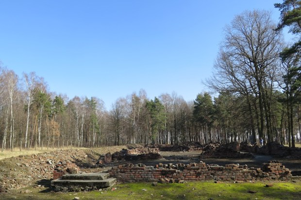 Ebenfalls im Wald das Krematorium V