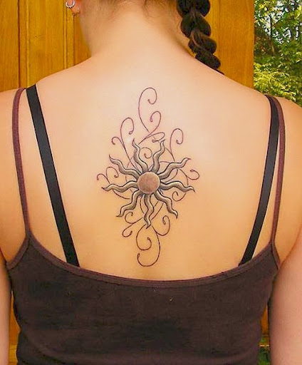 sun designs for tattoos