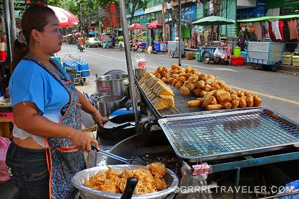 bangkok food, street food bangkok