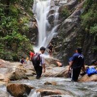 Adventure air terjun Santuari ikan Sungai Chiling