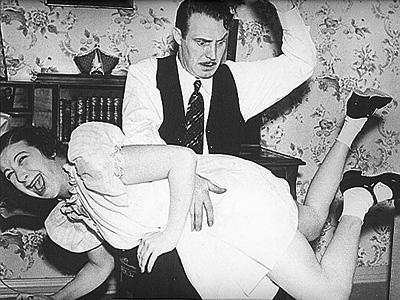 dad spanking boys