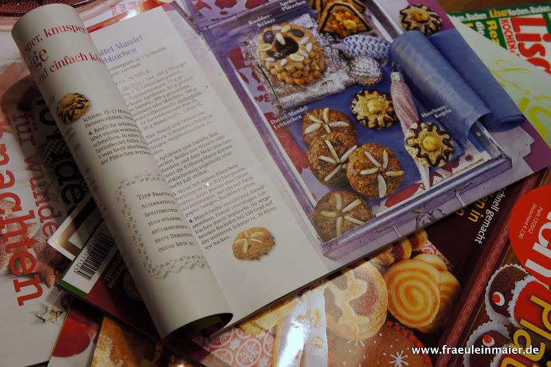Zeitschriften-Stapel Weihnachtsinspiration