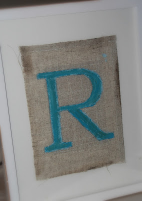 how to paint a family monogram