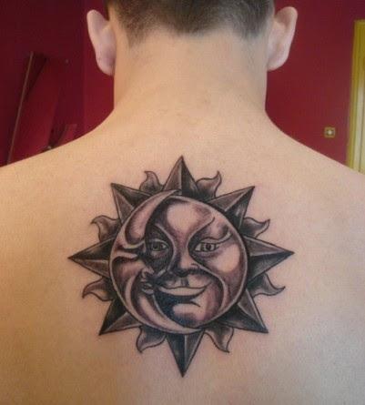 sun tattoos tribal