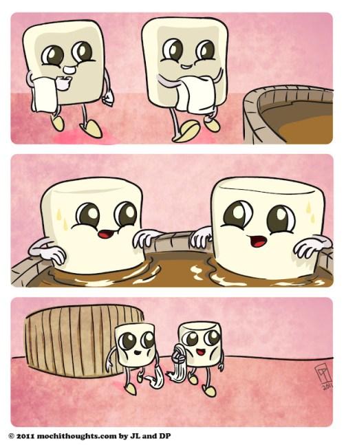 Cute Food Comic Diet Cocoa