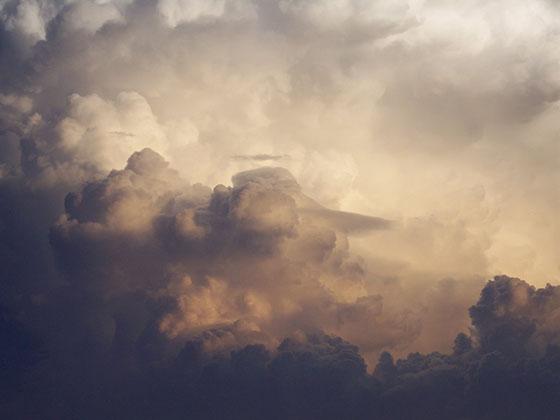 Nuvens densas