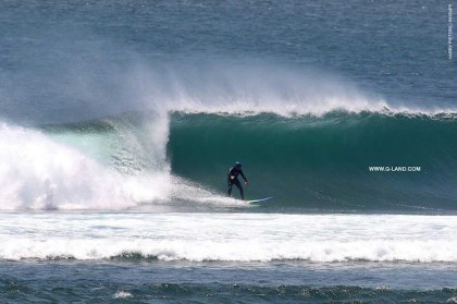 G-Land Surf Report on October 3, 2015