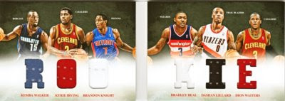12/13 Panini Preferred Rookie Book Card