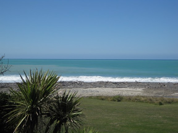 East coast of New Zealand's South Island, near Blenheim