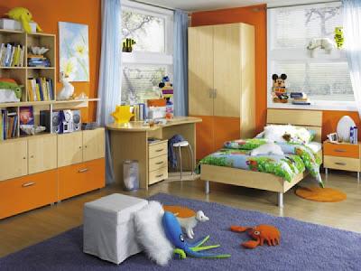 Kamar Anak Oranye