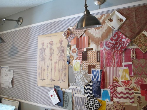 Medium Of Cork Board Wall