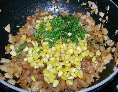 Corn and Onion Calzones Recipe