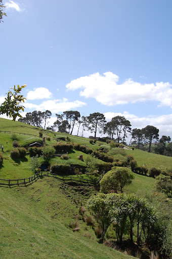 Hobbiton movie set for Hobbit movies