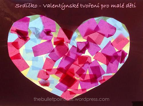 Tvoření pro děti Valentýn