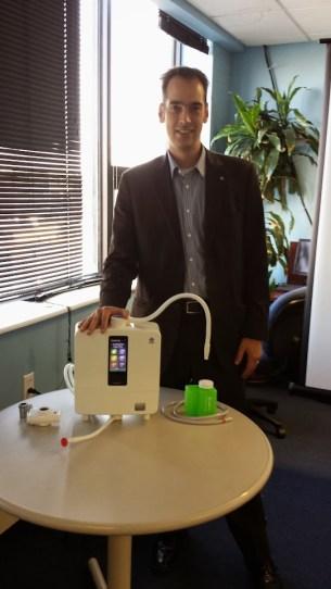 Steven Trapp presents the new LeveLuk Kangen 8 Water Ionizer